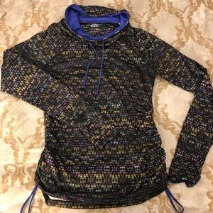 Maurices Cowl Neck Pullover Workout Sweater M